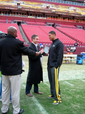 Greg Toland interviews Jason Campbell of the Redskins.